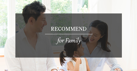 RECOMMEND for family