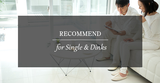 RECOMMEND for Single & Dinks